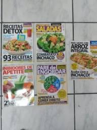 Lote Revistas emagrecimentos receitas