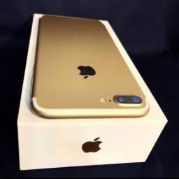 Apple 7 plus dourado