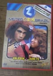 DVD ORIGINAL_METRÔ ZORRA BRAZIL - VALÉRIA E JANETE / Em Santos, Gonzaga.