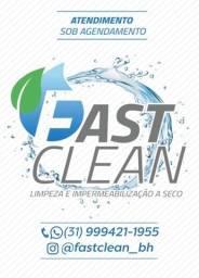 Impermeabiizacao de sofá e lavagem a seco é com a Fast Clean