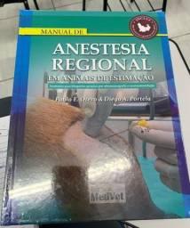 Livro Anestesia Regional em animais de estimação