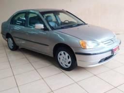 CIVIC 2002/2002 1.7 LX 16V GASOLINA 4P AUTOMÁTICO