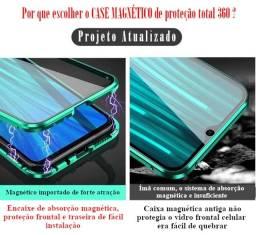 Case 360 Proteção Total encaixe Imã Xiaomi Redmi Note 7 e Note 7 Pro