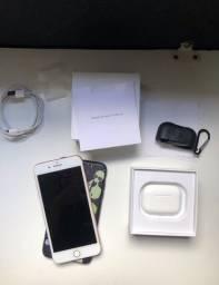 Iphone 7 Plus Rose 128gb + AirPods Pro