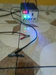Carregador de bateria 12volts 60 amperes