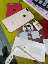 Iphone 8 plus 64 aceito cartão ou troco