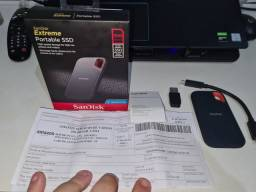 SSD externo 500GB SanDisk Extreme.