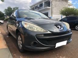 Peugeot 207 XR Sport 1.4 Flex 4P Cinza