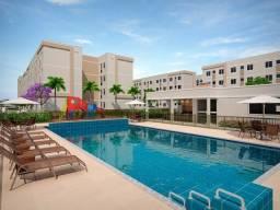 Título do anúncio: @MF# Apto no Fragoso com 2 qts, piscina, lazer completo com a qualidade mrv