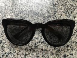 Óculos de Sol Diane Von Furstenberg Preto Modelo Dvf616S (Novo - Original)