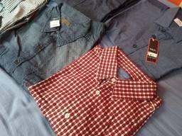 Vendo 6 Camisas de Manga Longa Collci, Vila Romana, Khelf, VR Denim, Fideli