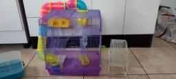 Gaiola completa para hamster