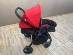 Título do anúncio: Carrinho de bebê passeio e berço
