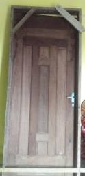 Vendo porta 80 cm massaranduba
