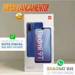 C/ Nota FISCAL é AQUI! Xiaomi REDMI 9T 128GB / Novo Lacrado GARANTIA / Global