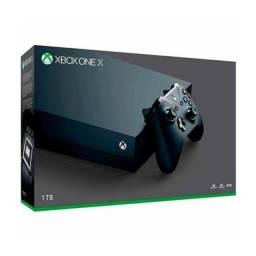 Xbox One X zerado na Caixa + 5 jogos Midia Fisica Com nota fiscal