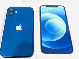 iPhone 12 Apple 128GB Azul Tela 6,1? com nota fiscal.