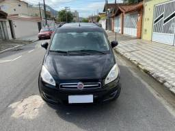 Fiat Idea Attractive 1.4  Preto 2014 Completo