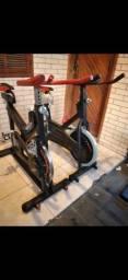 Bicicleta ergometrica Spinning ACEITO CARTÃO