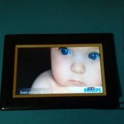 Philips porta retratos digital de 7 polegada