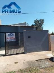 Título do anúncio: Aluguel facilitado de Casa nova, 2 quartos e garagem, bairro Planalto em Mateus Leme