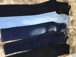 Calça  jeans (todas por $40)