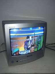 Tv 14 polegadas funciona perfeitamente