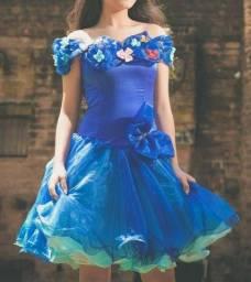 Título do anúncio: Vestido Balada Cinderela