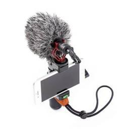 Microfone para gravação celular boya mm1 top