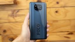 Lacrado - Celular Xiaomi Poco X3 NFC - 128GB Rom Global / 6GB Ram + Capinha e Película