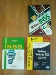 Livros concurso INSS
