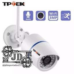 Câmera vigilância Wi-Fi - monitoramento pelo celular