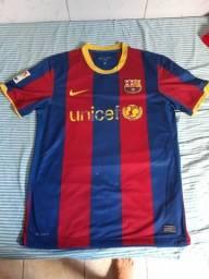 Título do anúncio: Camisa Barcelona 2010/2011 Original M