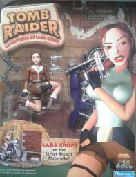 Lara Croft On Her Street Assault Motorbike Tomb Raider Playmates