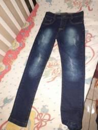 Vendo calça jeans juvenil masculino