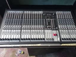 Mesa de som soundcraft SX3204Fx