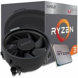 Processador AMD Ryzen e Placa mãe ASROCK AMD