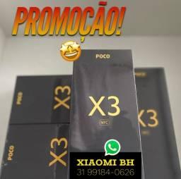 C/ Nota FISCAL é AQUI! Poco X3 NFC 64GB / Novo Lacrado GARANTIA / Versão GLOBAL