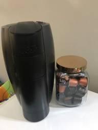 Cafeteira espresso com capsulas e porta capsulas na garantia