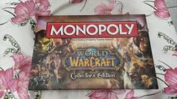 Título do anúncio: Monopoly edição limitada colecionador World of warcraft