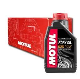 Motul Fork Oil Factory Medium 10w Bengala 100%sintético 1lt Alta Performace