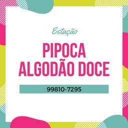 Título do anúncio: Pipoca + Algodão Doce para sua Festa!