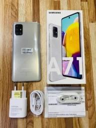 Samsung Galaxy A71 128gb Prateado (Nota + Garantia)