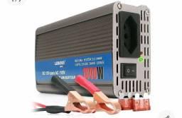 Inversor de Energia LEBOSS 12v para 110v- 1000w/ ENTREGA GRÁTIS.