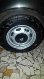 Troco por 14 ou 15 d meu interesse pneus n garantia