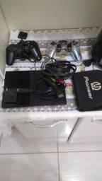 Video game play station 2 slim