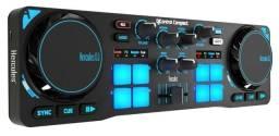 DJ Controladora Compact Hercules Nova