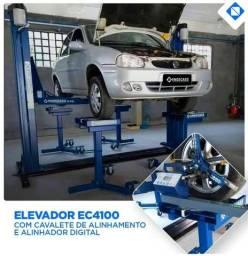 Elevacar Elevador Automotivo Trifásico 4100kg