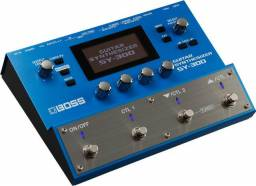 Sintetizador para Guitarra, contra-baixo e teclado