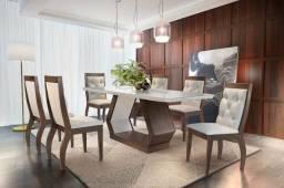 Mesa de jantar alvorada - 6 cadeiras M637